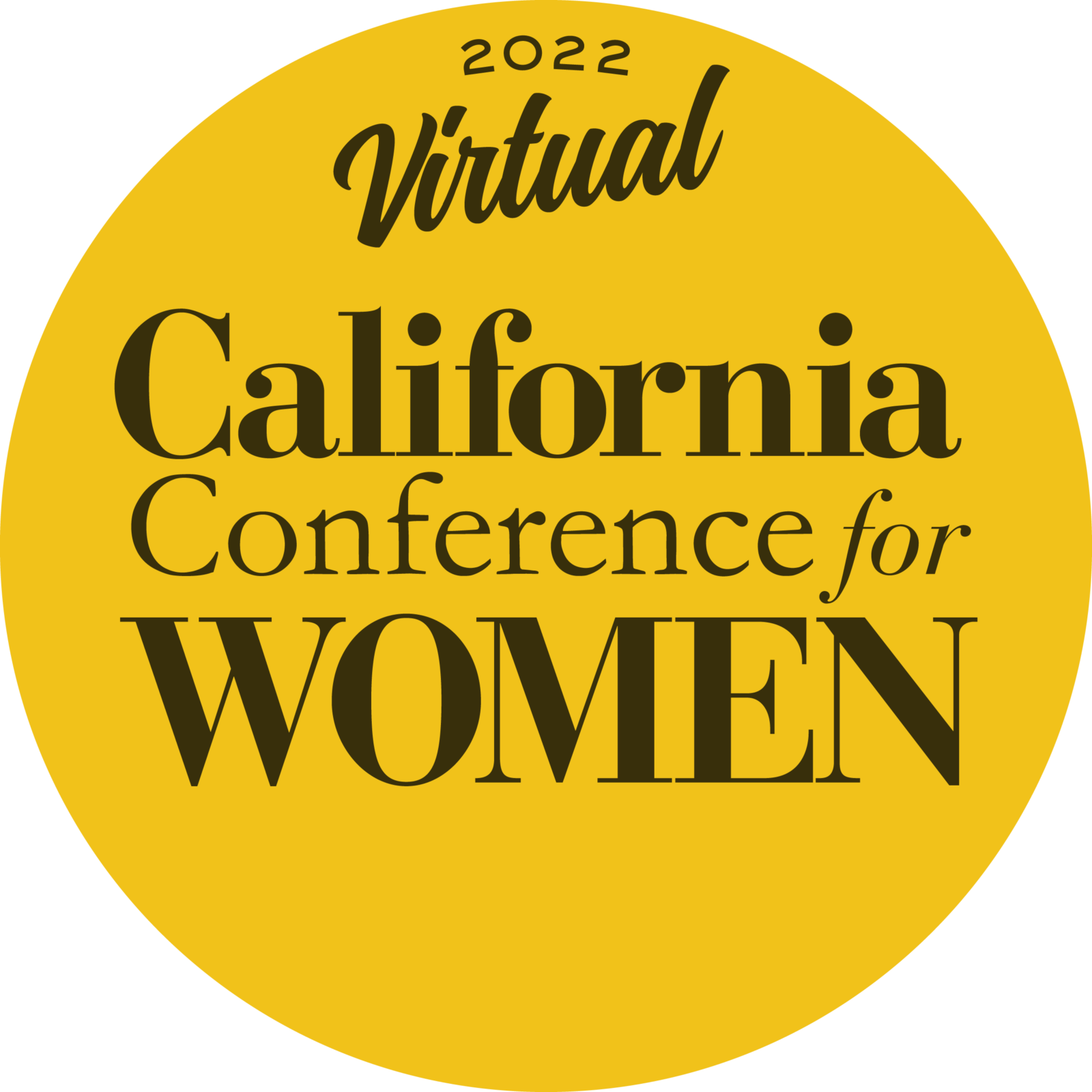 California Conference for Women March 2022 logo