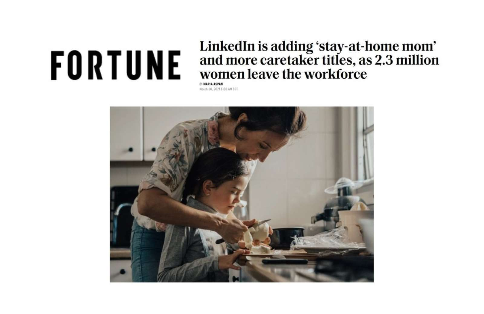 Fortune Linked In Title Announcement News Thumbnail