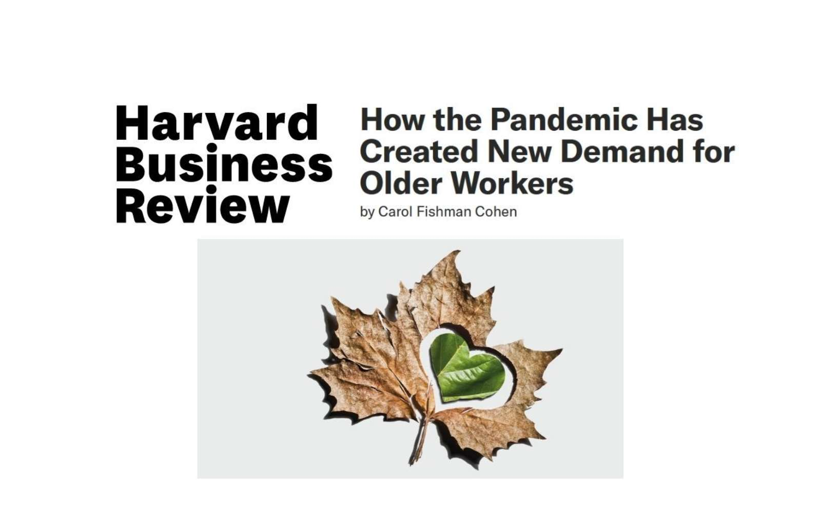 Hbr how the pandemic has created new demand for older workers news thumbnail