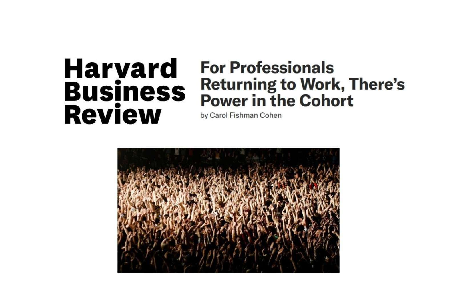 Hbr theres power in the cohort news thumbnail