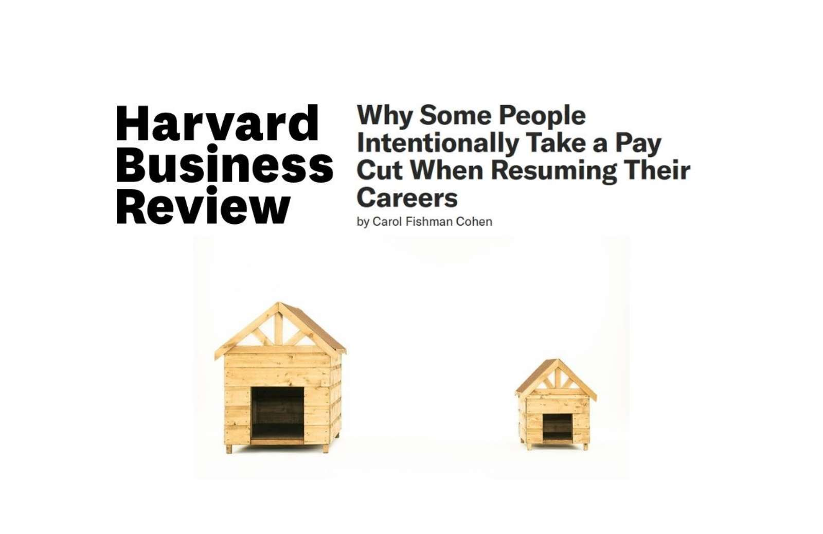 Hbr why some people intentionally take lower level position news thumbnail